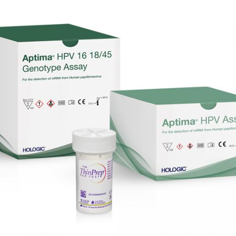 Aptima HPV assays and ThinPrep Pap test