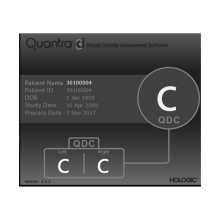 Quantra Breast Density Assessment Software
